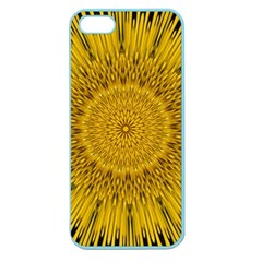 Pattern Petals Pipes Plants Apple Seamless Iphone 5 Case (color)