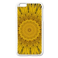 Pattern Petals Pipes Plants Apple Iphone 6 Plus/6s Plus Enamel White Case