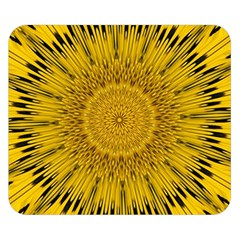 Pattern Petals Pipes Plants Double Sided Flano Blanket (small)