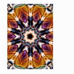 Kaleidoscope Pattern Kaleydograf Large Garden Flag (two Sides)