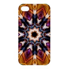 Kaleidoscope Pattern Kaleydograf Apple Iphone 4/4s Premium Hardshell Case