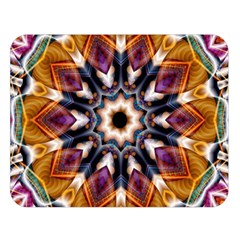 Kaleidoscope Pattern Kaleydograf Double Sided Flano Blanket (large)