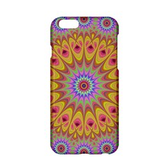 Geometric Flower Oriental Ornament Apple Iphone 6/6s Hardshell Case