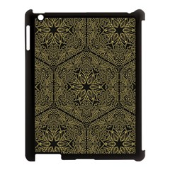 Texture Background Mandala Apple Ipad 3/4 Case (black)