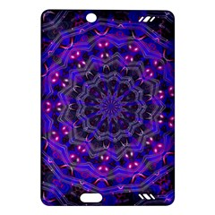 Purple Kaleidoscope Mandala Pattern Amazon Kindle Fire Hd (2013) Hardshell Case
