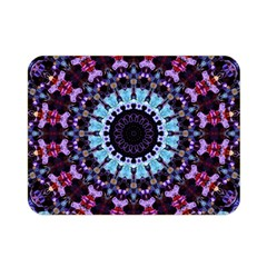 Kaleidoscope Shape Abstract Design Double Sided Flano Blanket (mini)