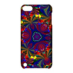 Kaleidoscope Pattern Ornament Apple Ipod Touch 5 Hardshell Case With Stand