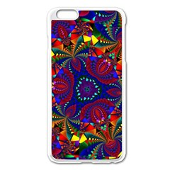 Kaleidoscope Pattern Ornament Apple Iphone 6 Plus/6s Plus Enamel White Case