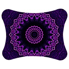 Mandala Purple Mandalas Balance Jigsaw Puzzle Photo Stand (bow)
