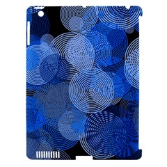Circle Rings Abstract Optics Apple Ipad 3/4 Hardshell Case (compatible With Smart Cover)