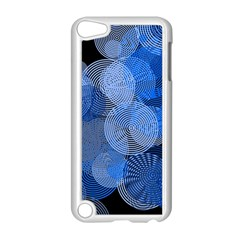 Circle Rings Abstract Optics Apple Ipod Touch 5 Case (white)