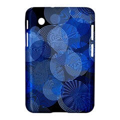 Circle Rings Abstract Optics Samsung Galaxy Tab 2 (7 ) P3100 Hardshell Case