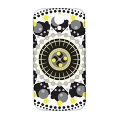 Mandala Geometric Design Pattern Samsung Galaxy S4 I9500/i9505  Hardshell Back Case