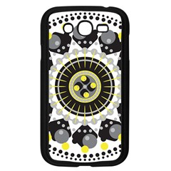 Mandala Geometric Design Pattern Samsung Galaxy Grand Duos I9082 Case (black)