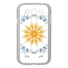 Mandala Mermaid Lake Rose Swimmers Samsung Galaxy Grand Duos I9082 Case (white)