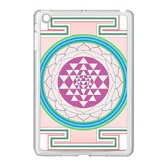 Mandala Design Arts Indian Apple Ipad Mini Case (white)
