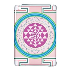 Mandala Design Arts Indian Apple Ipad Mini Hardshell Case (compatible With Smart Cover)