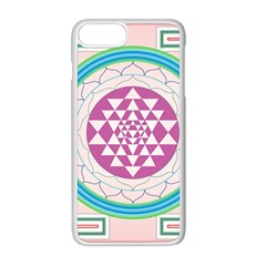 Mandala Design Arts Indian Apple Iphone 8 Plus Seamless Case (white)