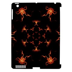 Mandala Fire Mandala Flames Design Apple Ipad 3/4 Hardshell Case (compatible With Smart Cover)