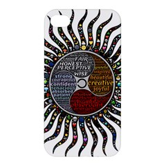 Whole Complete Human Qualities Apple Iphone 4/4s Premium Hardshell Case