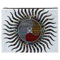 Whole Complete Human Qualities Cosmetic Bag (xxxl)