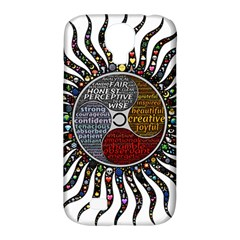 Whole Complete Human Qualities Samsung Galaxy S4 Classic Hardshell Case (pc+silicone)