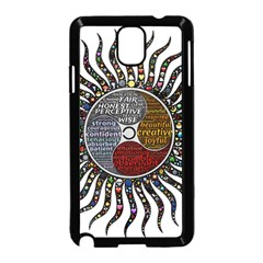 Whole Complete Human Qualities Samsung Galaxy Note 3 Neo Hardshell Case (black)