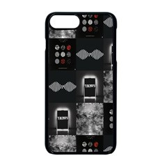 Twenty One Pilots Blurryface Arctic Monkeys Am Apple Iphone 8 Plus Seamless Case (black)