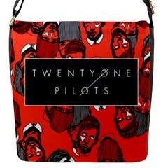 Twenty One Pilots Pattern Flap Messenger Bag (s)