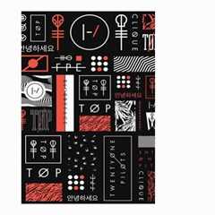 Twenty One Pilots Poster Small Garden Flag (two Sides)