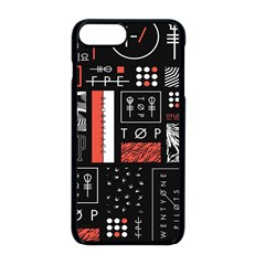 Twenty One Pilots Poster Apple Iphone 8 Plus Seamless Case (black)