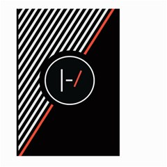 Twenty One Pilots Poster Large Garden Flag (two Sides)