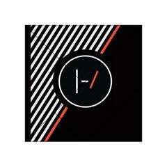 Twenty One Pilots Poster Acrylic Tangram Puzzle (4  X 4 )