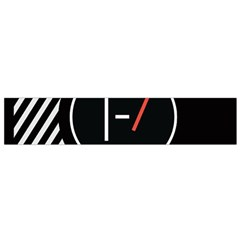 Twenty One Pilots Poster Small Flano Scarf