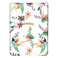 Floral Backdrop Pattern Flower Ipad Air Hardshell Cases