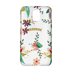 Floral Backdrop Pattern Flower Samsung Galaxy S5 Hardshell Case