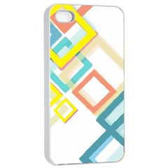 The Background Wallpaper Design Apple Iphone 4/4s Seamless Case (white)