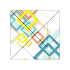 The Background Wallpaper Design Acrylic Tangram Puzzle (4  X 4 )