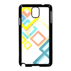 The Background Wallpaper Design Samsung Galaxy Note 3 Neo Hardshell Case (black)