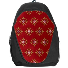Pattern Background Holiday Backpack Bag