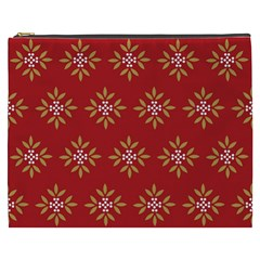 Pattern Background Holiday Cosmetic Bag (xxxl)