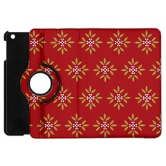 Pattern Background Holiday Apple Ipad Mini Flip 360 Case