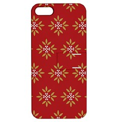 Pattern Background Holiday Apple Iphone 5 Hardshell Case With Stand
