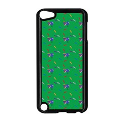 Bird Blue Feathers Wing Beak Apple Ipod Touch 5 Case (black)