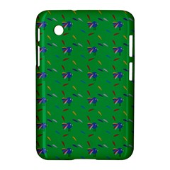 Bird Blue Feathers Wing Beak Samsung Galaxy Tab 2 (7 ) P3100 Hardshell Case