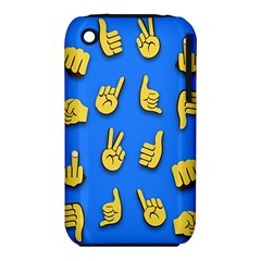 Emojis Hands Fingers Background Iphone 3s/3gs