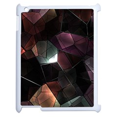 Crystals Background Design Luxury Apple Ipad 2 Case (white)
