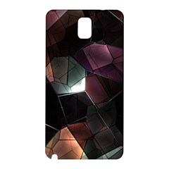 Crystals Background Design Luxury Samsung Galaxy Note 3 N9005 Hardshell Back Case