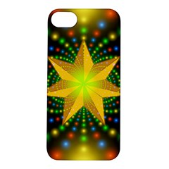 Christmas Star Fractal Symmetry Apple Iphone 5s/ Se Hardshell Case
