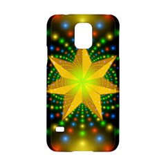 Christmas Star Fractal Symmetry Samsung Galaxy S5 Hardshell Case